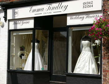 Wedding Dress Shops London on Wedding Dresses By Emma Tindley Couture